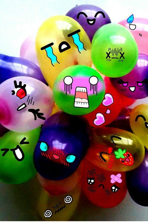 #kawaii #baloons #punykuraapp #colors #anime #fun