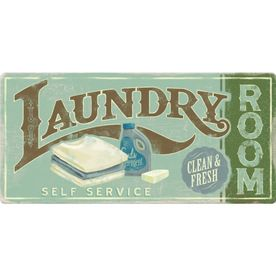 Great Retro Laundry Room