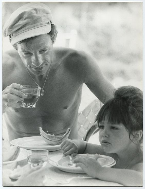 jean paul belmondo with his daughter