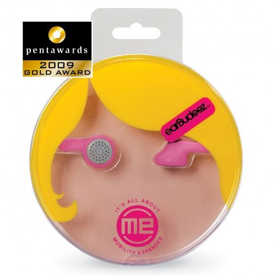 great packaging idea !     Cute and funny, I would definitely choose those earplugs instead of other, I mean she's winking at me !