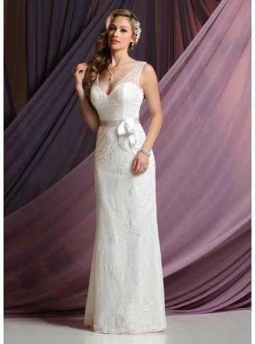 Davinci Informals - Style F7038 [F7038] - $330.00 : Wedding Dresses, Bridesmaid Dresses, Prom Dresses and Bridal Dresses -  Best Bridal Prices