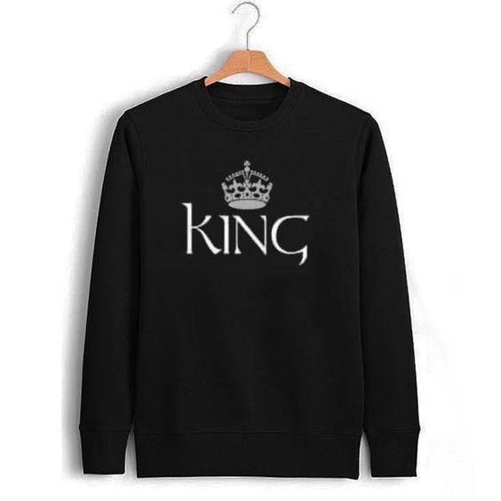 king Unisex Sweatshirts