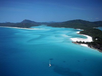 'Whitehaven Beach', Queensland, Australia  (Source: www.allposters.co.uk by David Ball) I've seen it and it's just amazing!