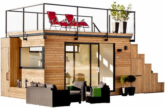 Shedworking: Steps 15: deluxe shedworking. The right floor plan and location and this could be a charming retreat.