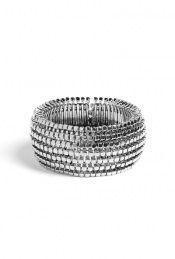 Block Stretch Bracelet by Kenneth Jay Lane