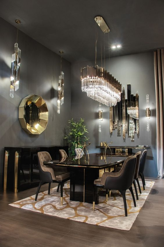 36 Inspiring Contemporary Dining Room Design With Images