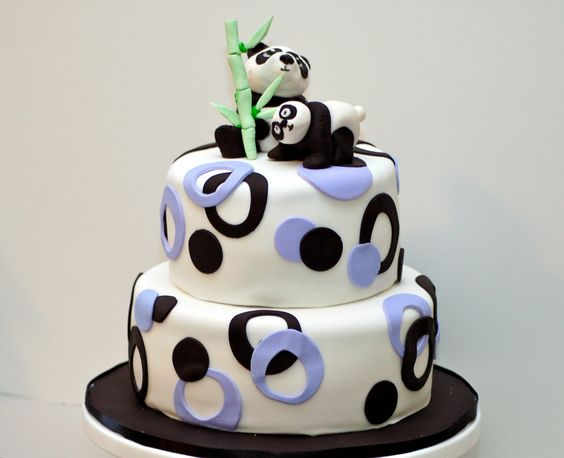panda bear birthday cake on birthday cake order vancouver
