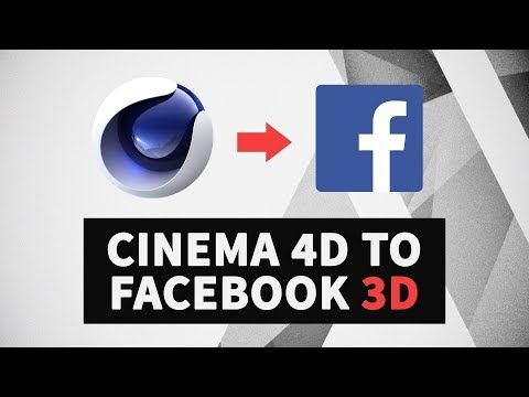 Facebook 3d Ready Cinema 4d Posts Using A Free Online Converter To Quickly Turn Obj Files Into Facebook 3d Ready Post Tutoriales Material Grafico