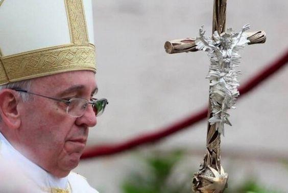 Ferula von Papst Franziskus