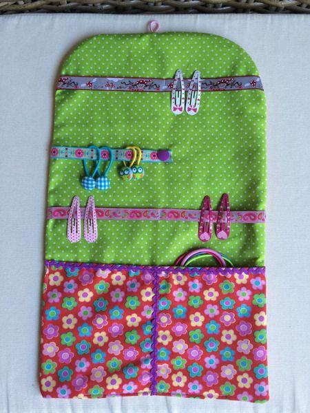 Haarspangenmäppchen*Blümchen* von * Creative Happiness * auf DaWanda.com