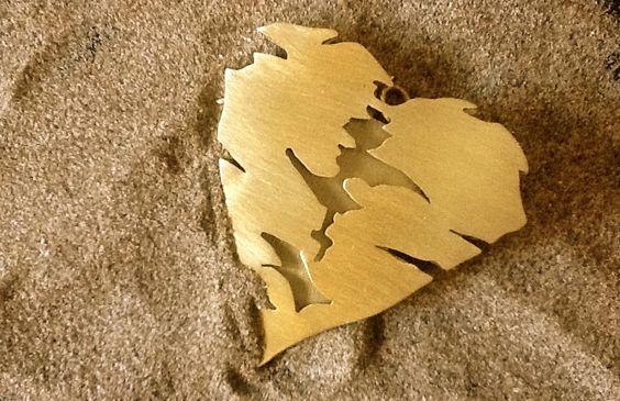 El corazón del Sahara. Trabajo artesanal de VANESKI. Joya de autor 2015