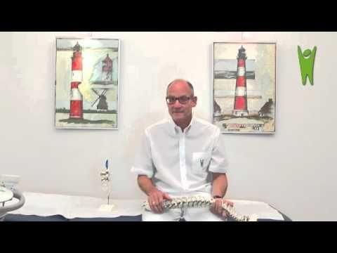 Lendenwirbelsäule: Rückenschmerzen Symptome und Behandlung