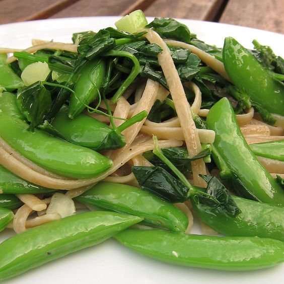 ... noodles | From the Kitchen | Pinterest | Sugar Snap Peas, Snap Peas