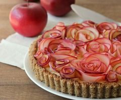 Guest Post: Apple Walnut Tart with Maple Custard from Baking A Moment | Hip Foodie Mom