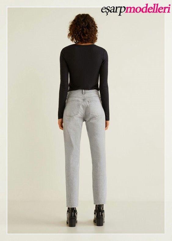 Mango Bayan Jean Pantolon Fashion Mango Jeans Pantsuit