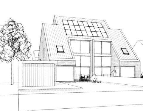 Ongekend 2 onder 1 kap woning - Architecten, Droomhuizen en Huizen JO-65
