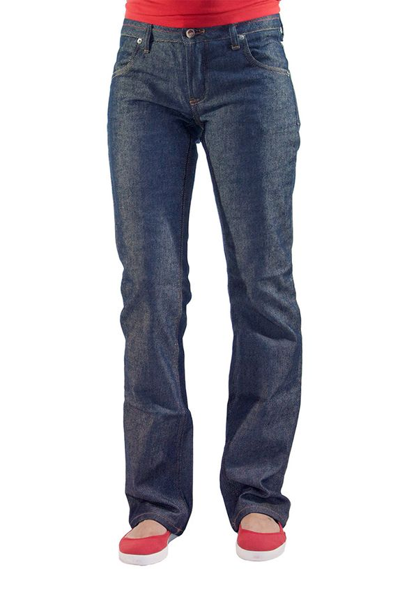 Jeans 100% coton bio, entièrement fabriqué en France - 1083. Patrons libres. A faire quand je saurai faire des pantalons !