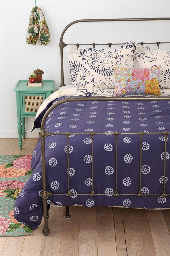Plum & Bow Callin Iron Bed....love this iron bed frame