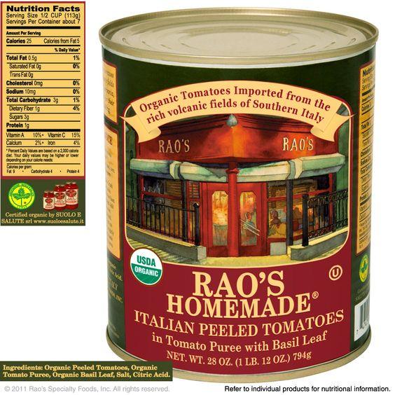 Rao's Imported Italian Tomatoes