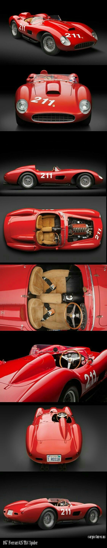 Ferrari 750 monza spider 1955 automotive pinterest ferrari spider and cars