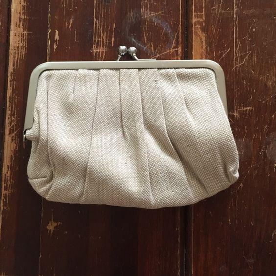 stila clutch new clutch, metallic shimmer. linen Stila Bags