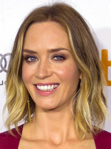 Astonishing Emily Blunt Celebrity And Colors On Pinterest Short Hairstyles Gunalazisus
