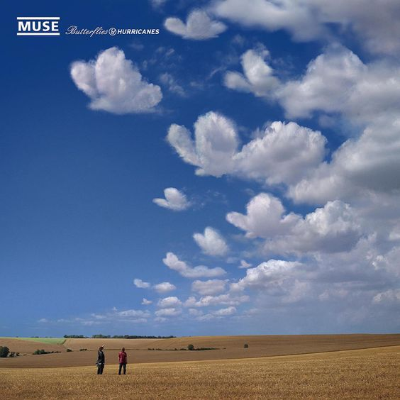 Muse – Butterflies and Hurricanes (single cover art)