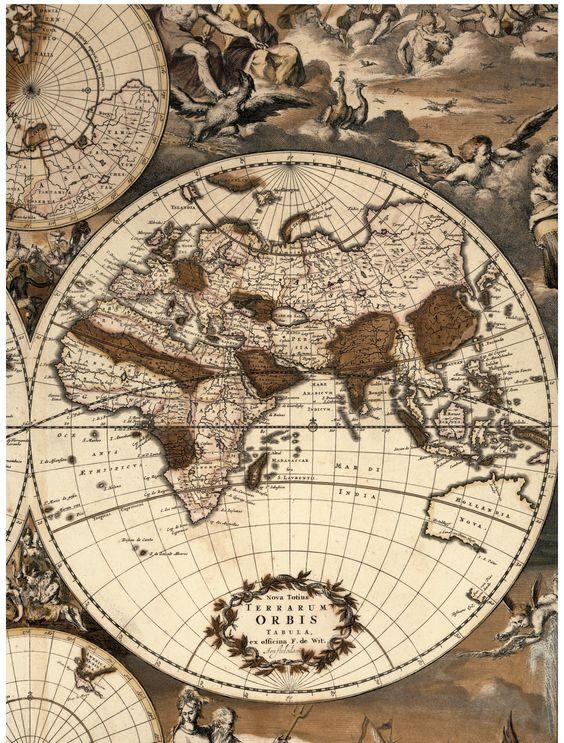 Frederik de Wit. Nova Totius Terrarum Orbis Tabula, circa 1668 (credit: Special Collections and University Archives, Stony Brook University).