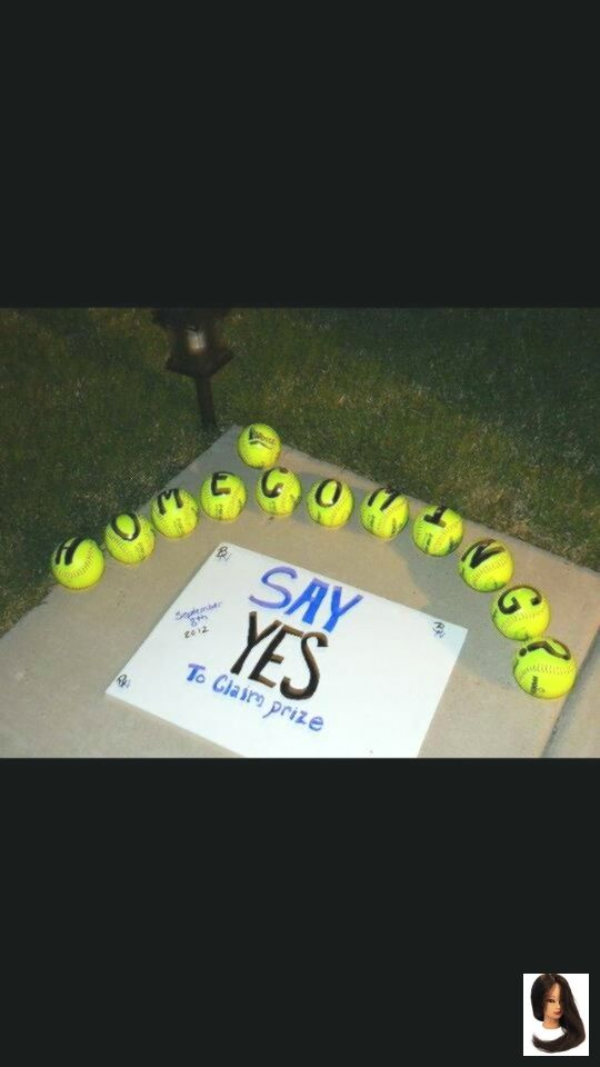 Someone Should Totally Ask Me To Homecoming Like This But With Tennis Bal Cute Homecoming Proposals Cute Prom Proposals Homecoming Proposal