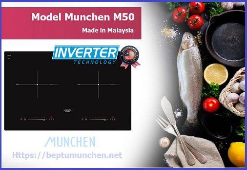 Điều gì đã tạo nên sức hút đặc biệt cho bếp từ Munchen M50 new 2017
