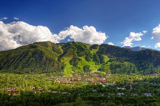 Aspen in the summer. Check!