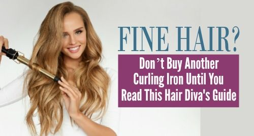 The Best Curling Irons For Fine Hair Mean Effortless Elegance Terrific Tresses Fine Hair Heat Styling Products Curling Fine Hair