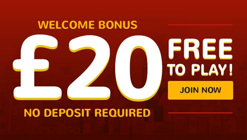 Get £20 as Signup bonus and 400% Bonus on your first deposit. House