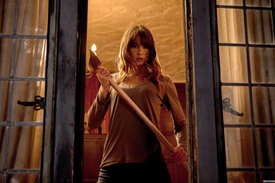 John's Horror Corner: You're Next (2013), featuring one of the best credibly tough horror heroines I've seen in a decade! | Movies, Films & Flix