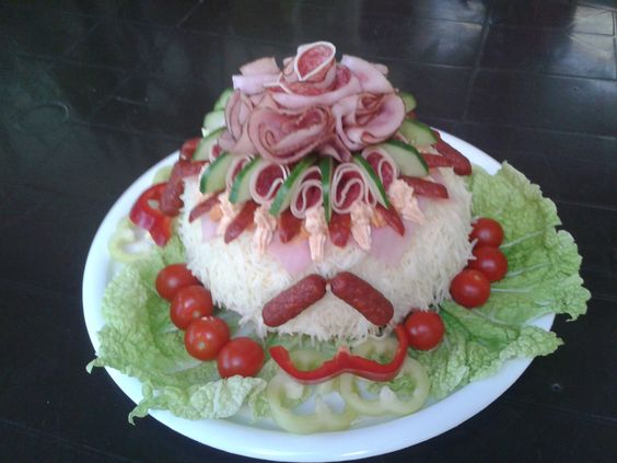 dort - Salámový (slaný) / cake - Sausage (salty)