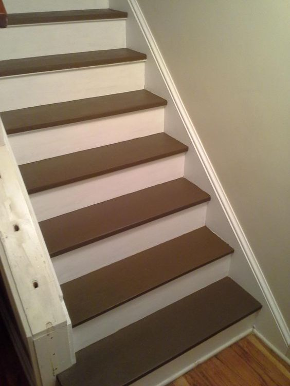 Best Woodnet Forums Paint Or Stain Dye Pine Stair Treads 400 x 300