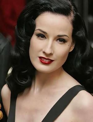 Dita von Teese...not technically vintage, but I love her vintage style