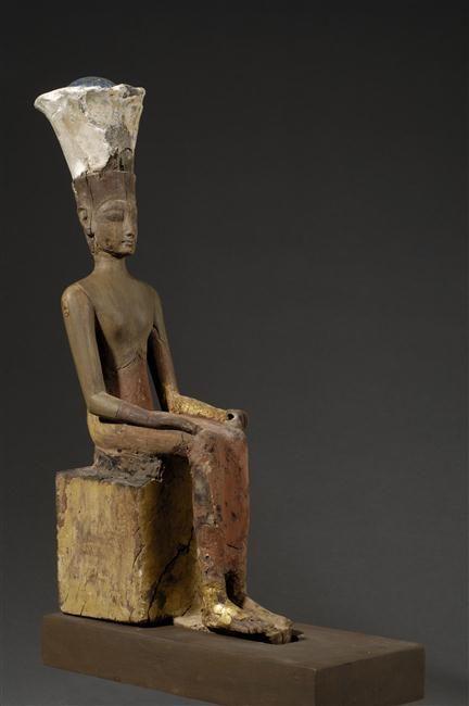 Anuket - Goddess of the Nile river. Egypt, Dynasty XIX. / Louvre
