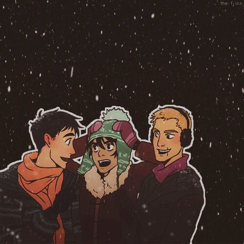 Percy And Nico And Jason