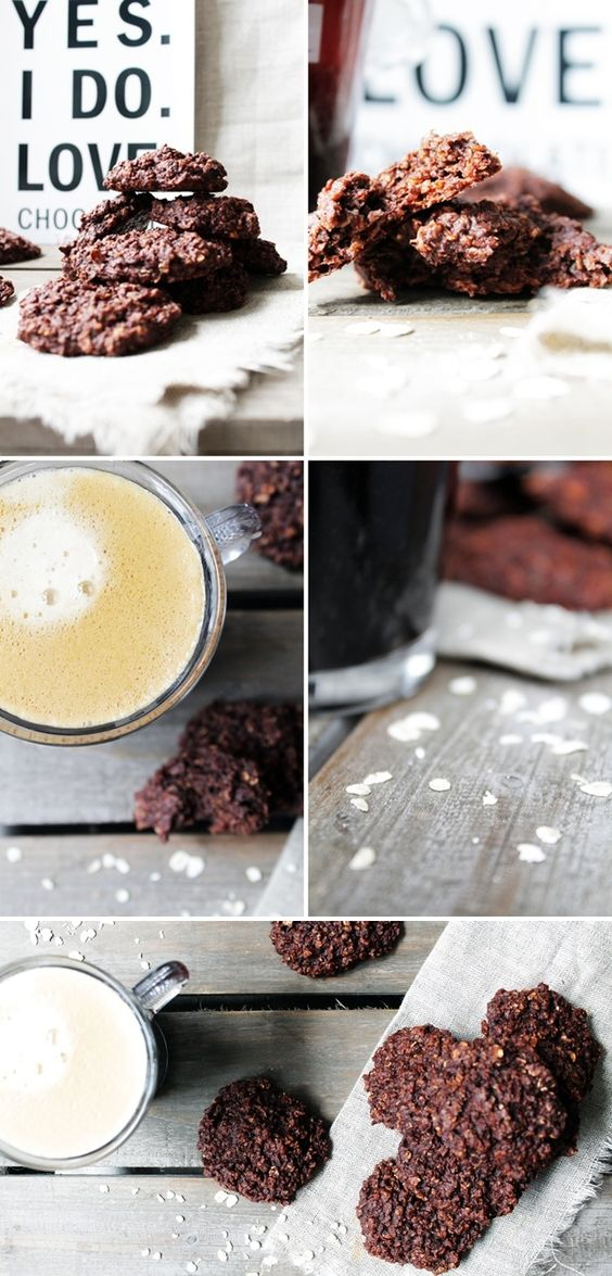 non fat :: oatmeal cookies