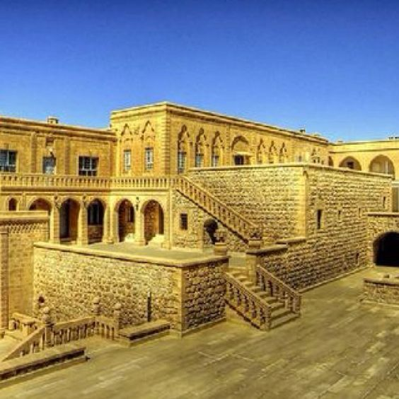 """""""The largest and oldest of the monasteries of the Tûr Abdin, Mor Gabriel was founded in AD397 by Simeon, who came from an aristocratic family in Mardin and was the real originator of monastic life on the plateau. In its heyday under Simeon, the monastery boasted 400 monks, some coming from as far afield as Egypt. Today, there is a community of around three monks, 20 or so nuns, and a bishop who is head of the Syrian Orthodox Church in Turkey."""" Eastern Turkey: the Bradt Guide…"""