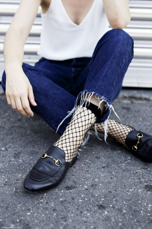 Fishnets are no longer considered rebellious or super sexy but are being added to daytime outfits, creating an on trend & textured look. www.stylestaples.com.au: