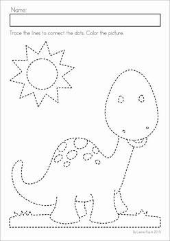 Dinosaurs preschool, Worksheets and Preschool math on Pinterest