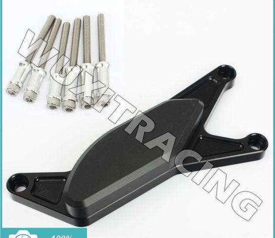 XX eCommerce Motorcycle Motorbike CNC Aluminum Engine Guard Frame Slider for 04-05 Suzuki GSXR 600 750 2003-2008 1000 GSXR 03-08 1000 2004 2005 2006 2008 04-05 Red
