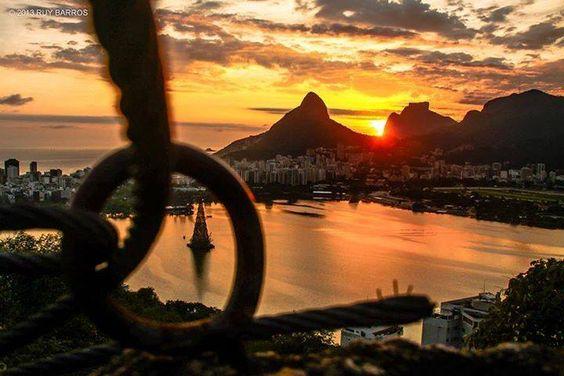 Lagoa Rodrigo de Freitas- Rio de Janeiro - Brasil