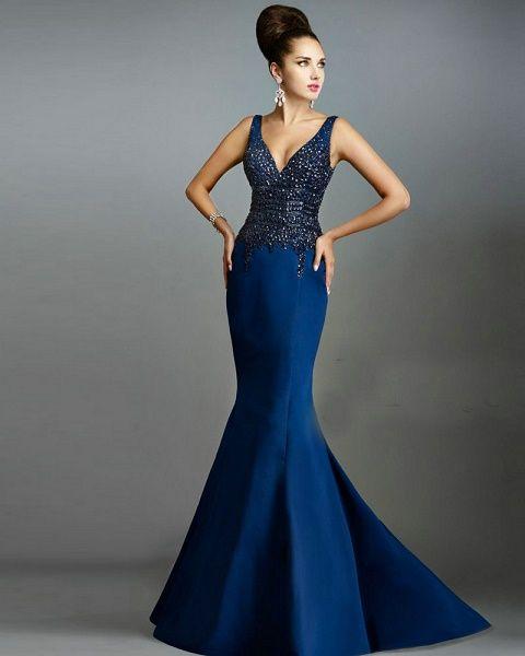 duradero en uso baratas para la venta original de costura caliente Modelos de vestidos de noche actuales #actuales #modelos ...