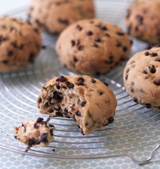 Petits pains au lait aux pépites de chocolat de Gérald (Le Meilleur Pâtissier #2) - Recettes de cuisine Ôdélices: