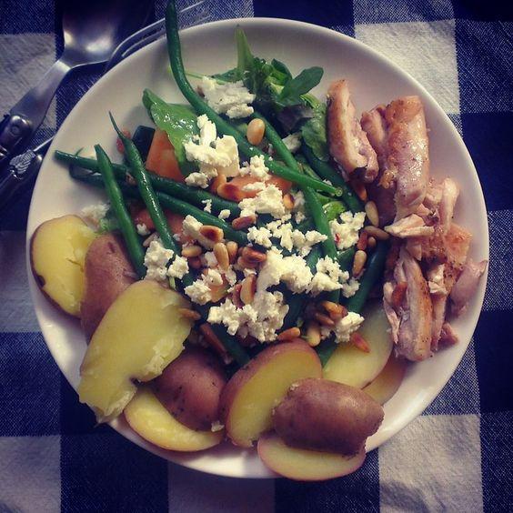 Weet jij wat je eet? Wij eten een zomerse salade met meloen