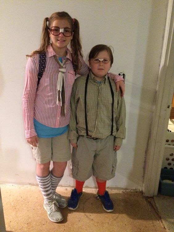 Nerd day at school ideas for boys