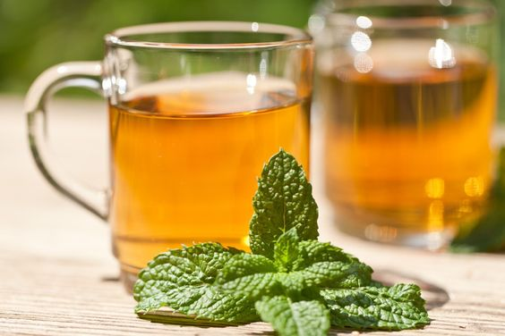 Peppermint tea is one of the best things for indigestion. Via: JL-Pfeifer | Shutterstock